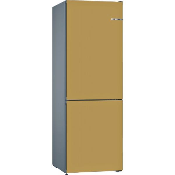 BOSCH 324L雙門雪櫃/可更換門板 KVN36IX3CK-寶石金