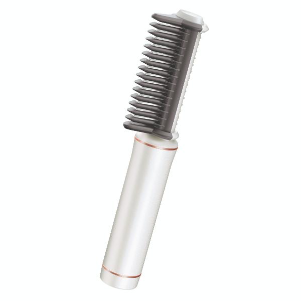 VS SASSOON 便攜式電熱直髮梳 VSU0210WH/白色