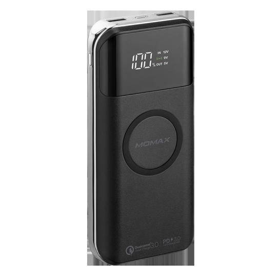 MOMAX Q.Power Air2+ 20000mAh無線充電流動電源 黑