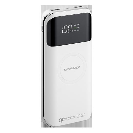 MOMAX Q.Power Air2+ 20000mAh無線充電流動電源 白