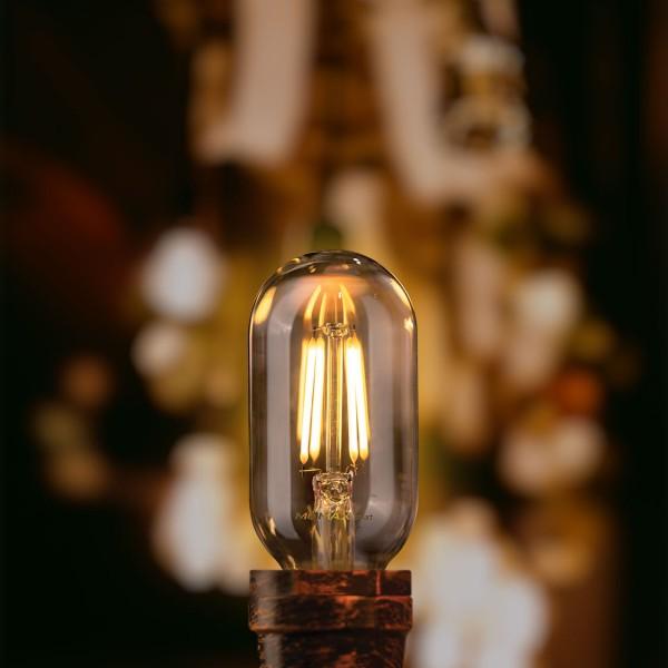 MOMAX SMART IoT 復古WiFi智能LED燈泡 E27/2700K 圓柱