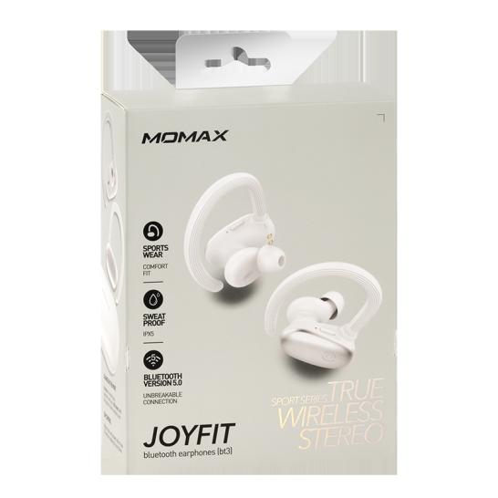 MOMAX JOYFIT 真無線藍牙耳機 白