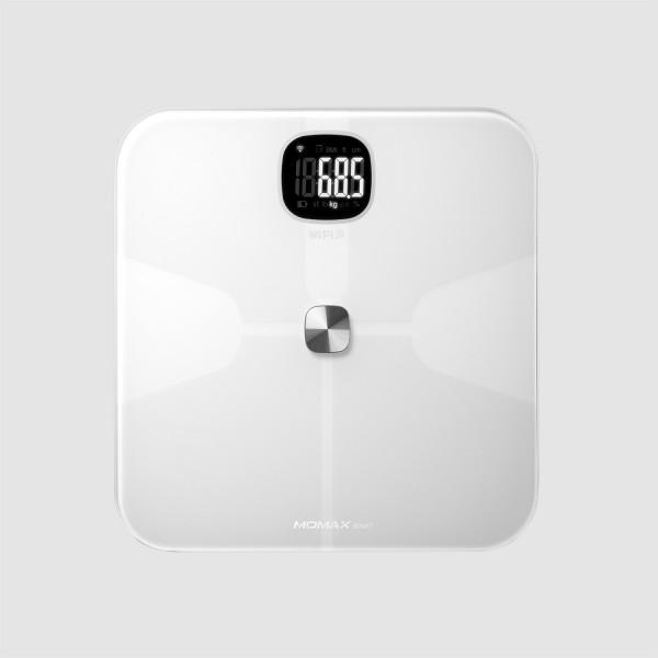 MOMAX Health Tracker 智能體脂磅 白