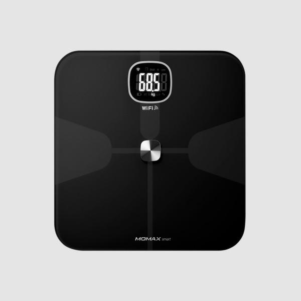 MOMAX Health Tracker 智能體脂磅 黑