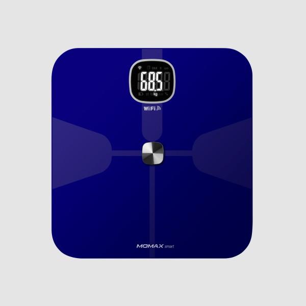 MOMAX Health Tracker 智能體脂磅 藍