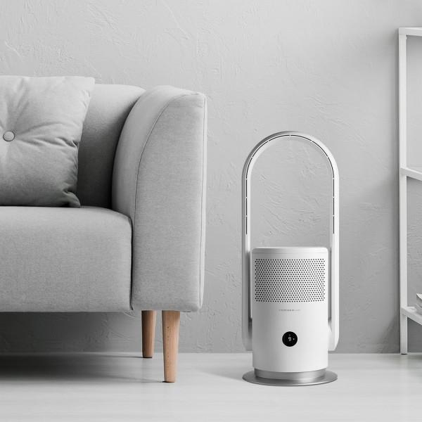 MOMAX Ultra-Air SmartIoT智能紫外光空氣淨化風扇 白