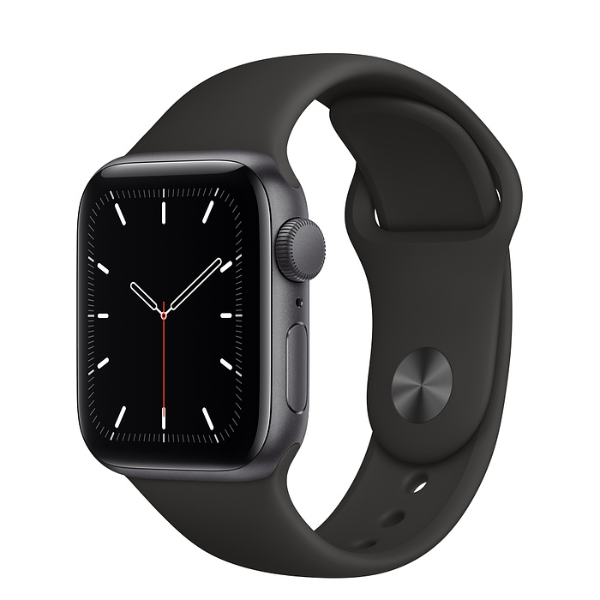 APPLE Watch SE GPS 40mm Space Grey/Black Sport Band-Regular