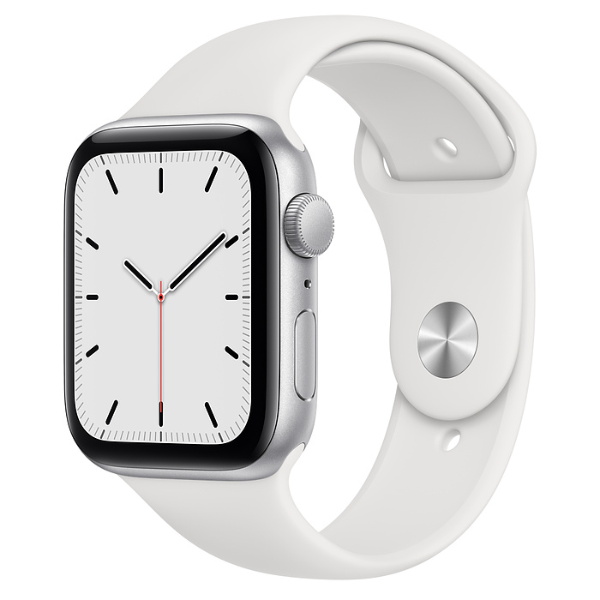 APPLE Watch SE GPS 44mm Silver/White Sport Band-Regular