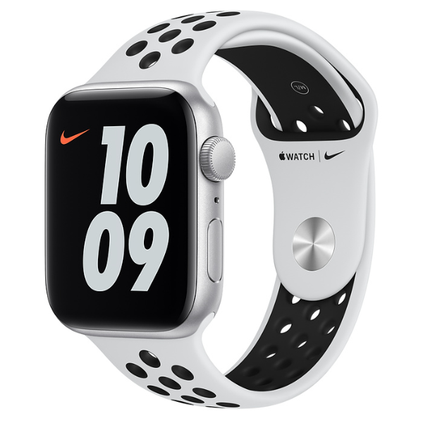 APPLE Watch Nike SE GPS 44mm Silver/Black Sport Band
