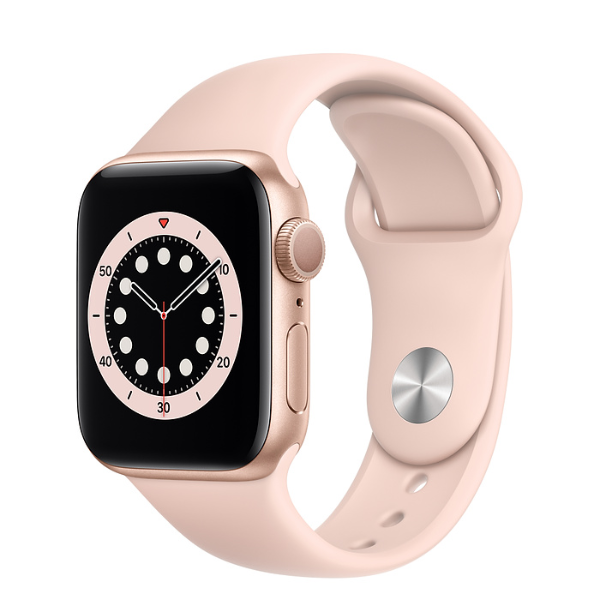 APPLE Watch S6 GPS 40mm Gold/Pink Sand Sport Band-Regular