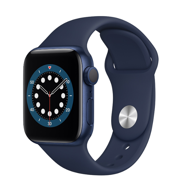 APPLE Watch S6 GPS 40mm Blue/Deep Navy Sport Band-Regular