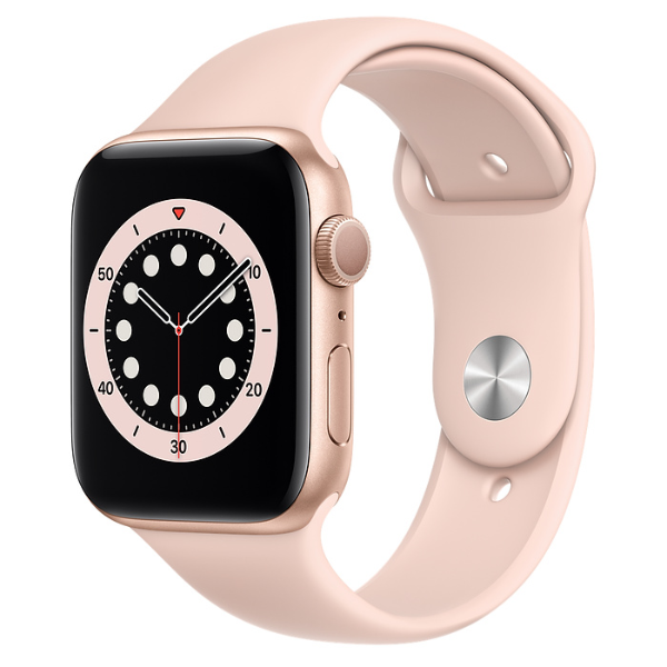 APPLE Watch S6 GPS 44mm Gold/Pink Sand Sport Band-Regular