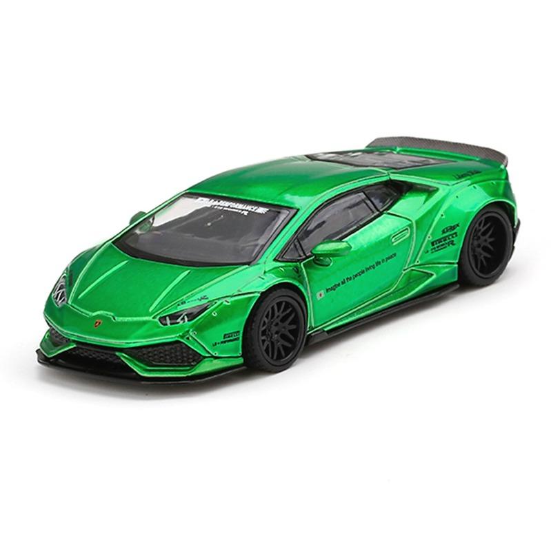 MINI GT LB*WORKS Lamborghini Huracan V.2 [RHD] Green