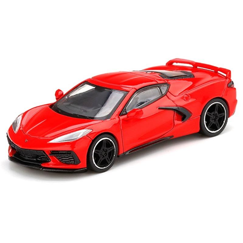 MINI GT Chevrolet Corvette Stingray 2020 RHD Torch Red