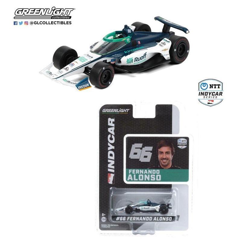 GreenLight #66 Fernabdo Alonso Arrow McLaren SP 2020 INDYCAR Series