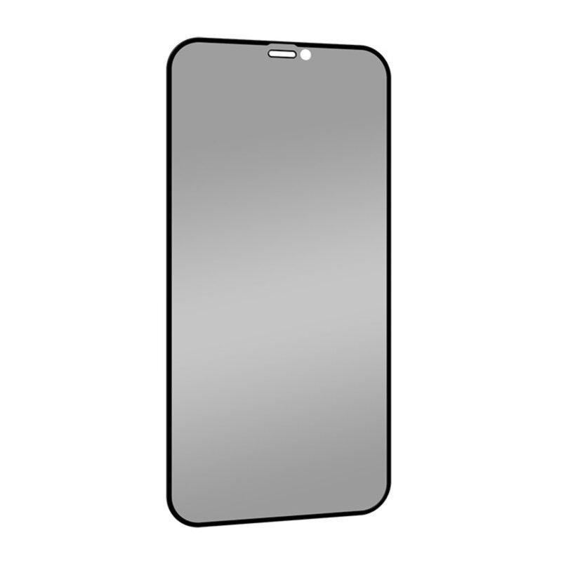 MOMAX iPhone 12 / 12 Pro 全屏抗菌防窺玻璃貼