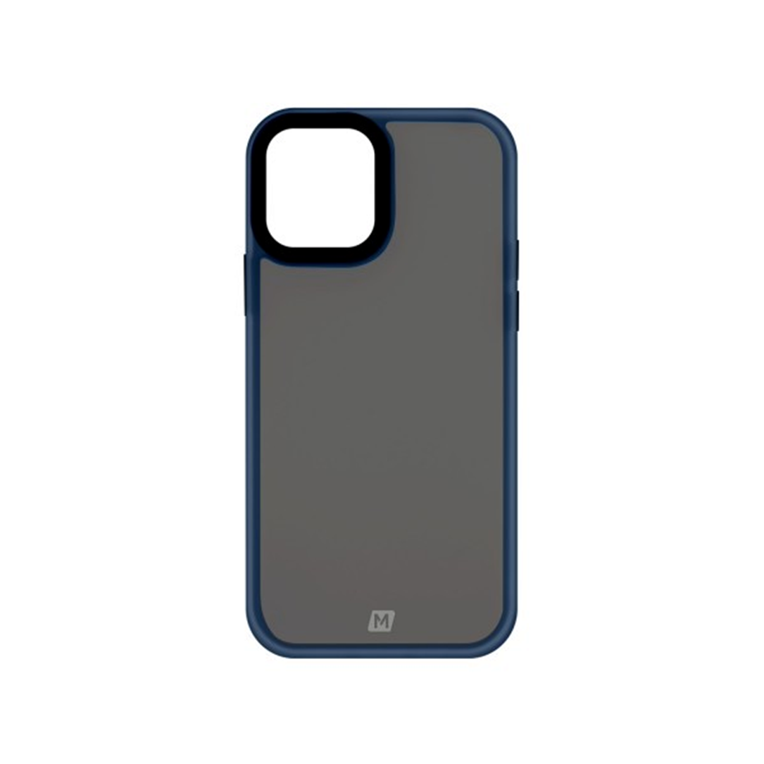 MOMAX iPhone 12 Pro Max Hybrid Case 藍