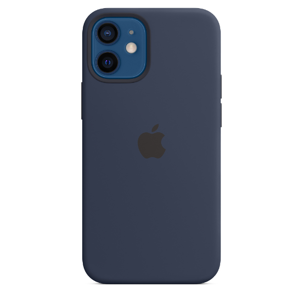 APPLE iPhone12 mini Silicone Case with Magsafe Deep Navy