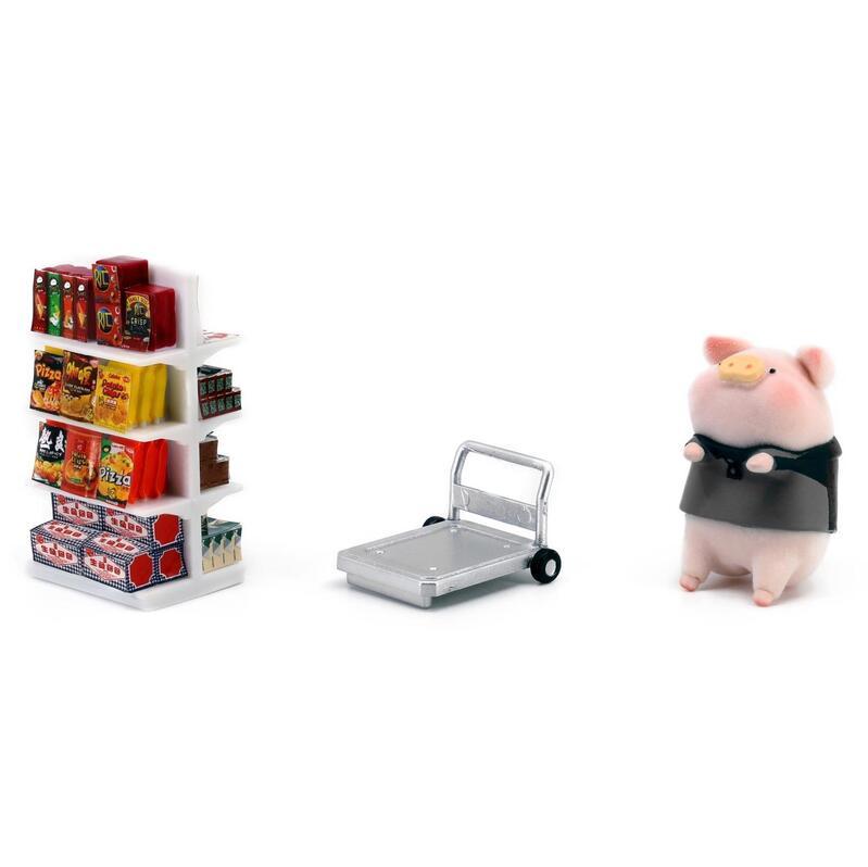Tiny微影 2D 迷你精品貨架 x 速遞員LuLu豬