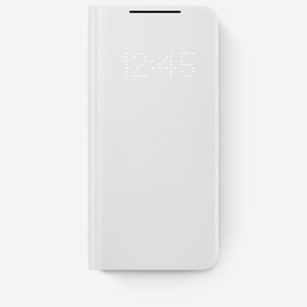 Samsung S21 LED View Cover 翻頁式皮套 Gray