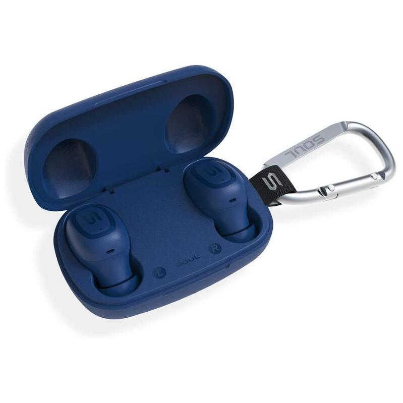 SOUL S-Gear True Wireless Earphones Blue