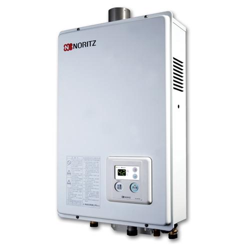 NORITZ [P][i]石油氣13L強排式熱水爐 GQ1350FE