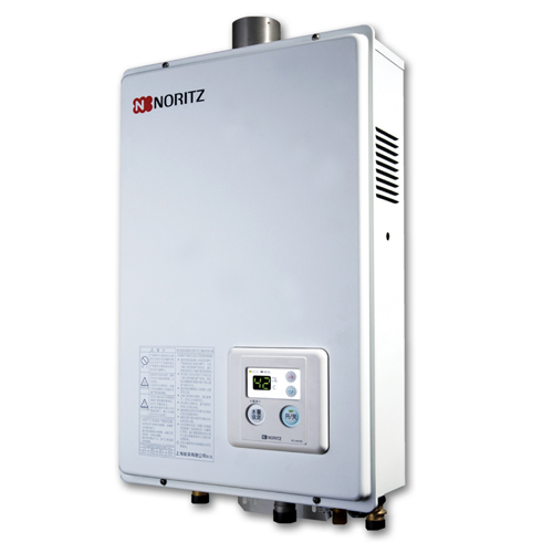NORITZ [P/i]石油氣16L強排式熱水爐 GQ1650FE