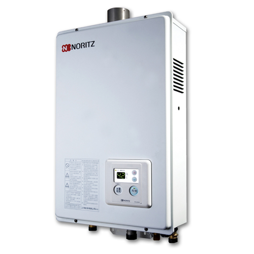 NORITZ [P/i]天然氣-13L強排式熱水爐 GQ1350FE/12T