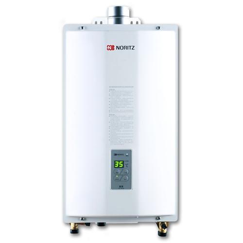 NORITZ 天然氣11L強排式熱水爐 GQ-11A1FE/12T