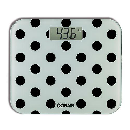 CONAIR 波點圖案電子磅 C2999H-黑色