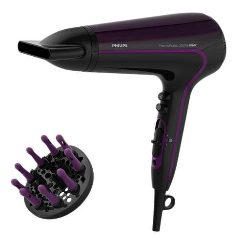 PHILIPS [S]2200W負離子電風筒 HP 8233 紫黑色