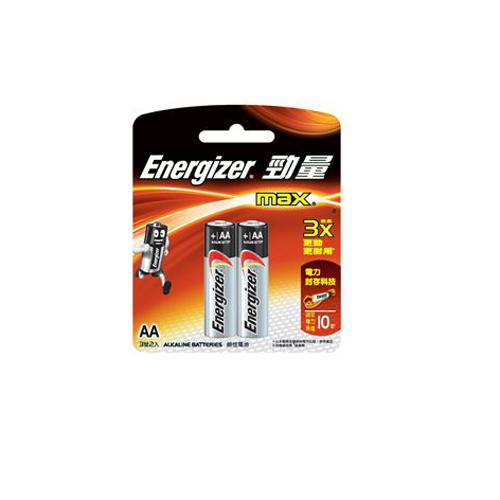 ENERGIZER 勁量鹼性電芯-2A-2粒咭裝 E91BP2