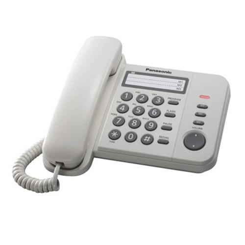 PANASONIC 單線家用電話 KX-TS520MXW白
