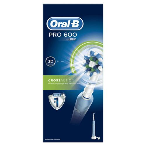 BRAUN [5/i]充電電動牙刷 Prof.P600