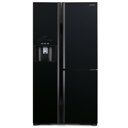 HITACHI 584L三門對門式雪櫃 R-M700GP2HGBK(黑玻璃