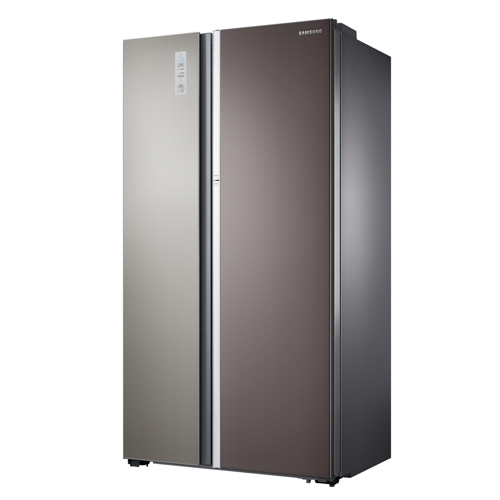 SAMSUNG 605L對門式雪櫃 RH60H90203L 暗金屬色