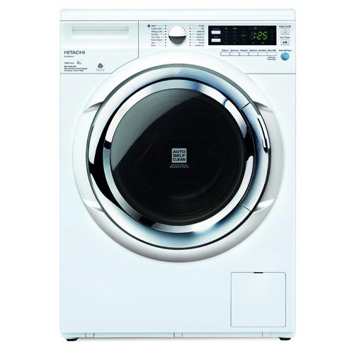 HITACHI 8KG前置式洗衣機 BDW80XWV-WH 白