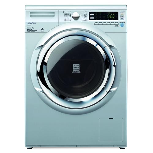 HITACHI 9KG前置式洗衣機 BDW90XWV-MG 銀灰