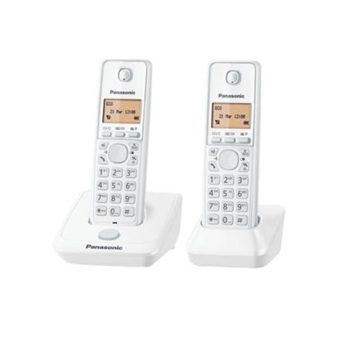 PANASONIC 雙機無線電話 KX-TG2712HKW白