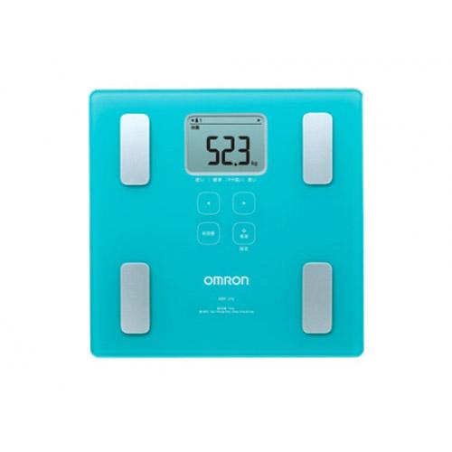 OMRON 脂肪分析磅 HBF-214藍