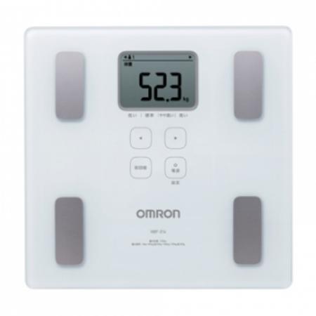 OMRON 脂肪分析磅 HBF-214白