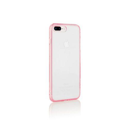ODOYO iPhone8/7 Plus Clear Edge Case 粉