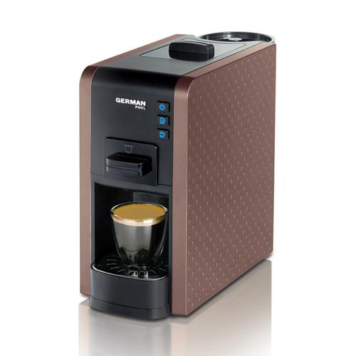 GERMANPOOL 隨芯咖啡機 CMC-111BN 啡色