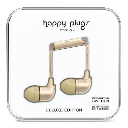 HappyPlugs In-Earphone Champagne