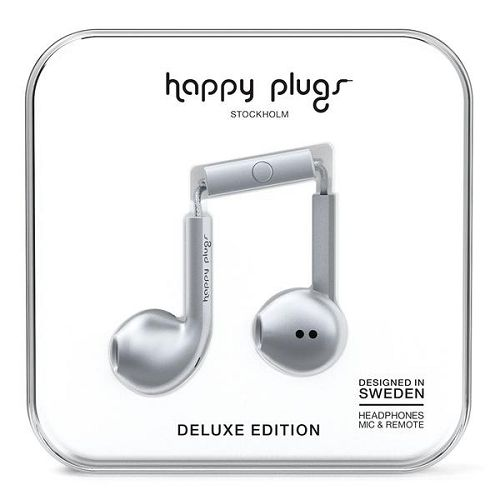 HappyPlugs Earbud Plus Space Grey