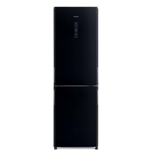 HITACHI 320L雙門雪櫃 RBG380P6XHLGBK黑玻璃