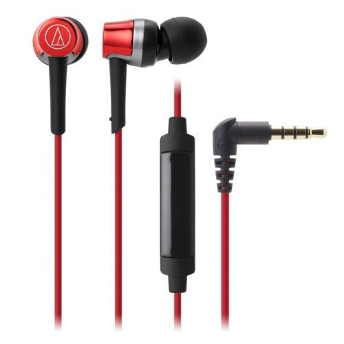 audio-tech Mobile In-Earphone 紅 ATH-CKR30iS RD