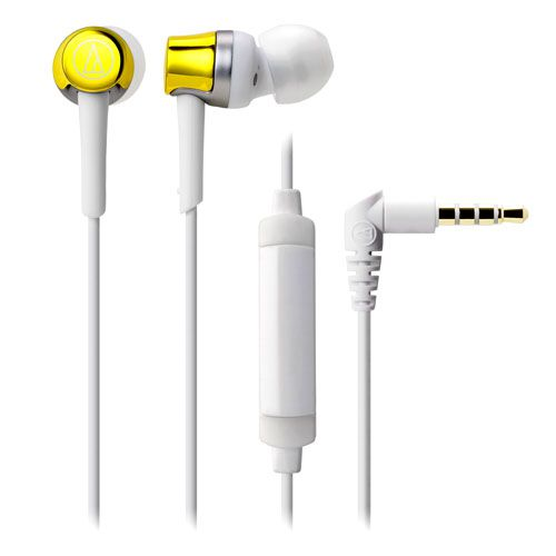 audio-tech Mobile In-Earphone 白 ATH-CKR30iS WH