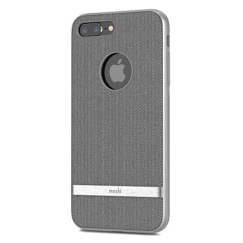 moshi Vesta for iPhone 8/7 Plus Herringbone Gray