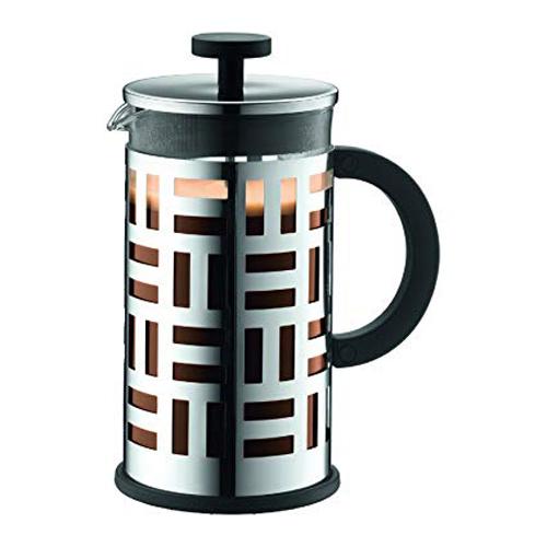 BODUM 1.0L擠壓式咖啡壺 11195-16 銀